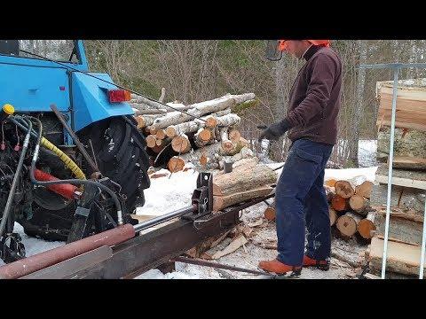 DIY Log Splitter Part 3