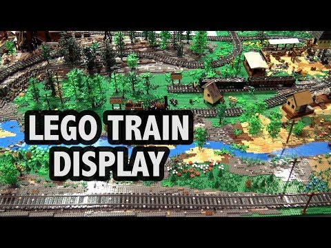 LEGO Steamwood Falls Mine With Trains | Brick Fiesta 2017
