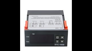 Setting the STC1000 temperature controller for Incubator, Aquarium, lab etc