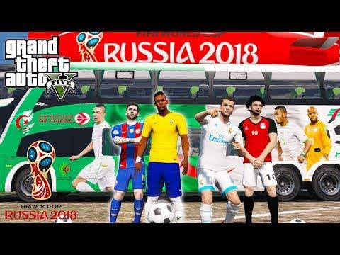 COPA DO MUNDO 2018 NO GTA 5 !! Futebol ( GTA 5 Mods ) Messi, Neymar, CR7 E Mais