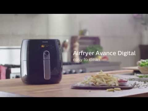Airfryer Avance Digital | How to clean | Philips | HD9240