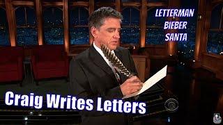 Craig Writes Letters - To Justin Bieber, David Letterman & Santa + More thumbnail