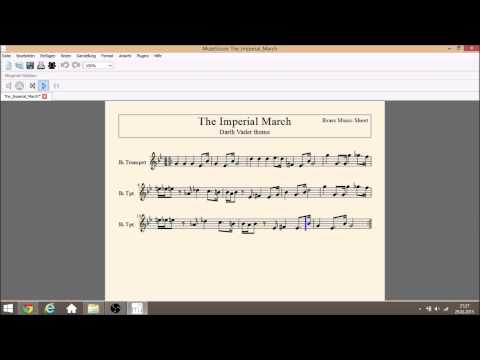 The Imperial March [Darth Vader Theme] by Brass Music Sheets