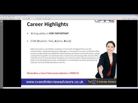 How to write a High Impact CV and LinkedIn Profile - GAAPweb