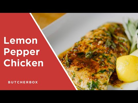 Lemon Pepper Chicken Breasts By ButcherBox