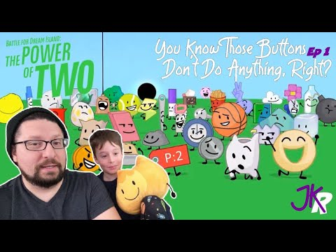 Download BFDI The Power of Two REACTION Episode 1: You Know Those Buttons Don't Do Anything, Right?