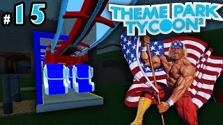 Theme Park Tycoon! Ep. 15: MURICA Themed Coaster! | Roblox