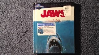 Unboxing Jaws Blu-Ray/DVD Book