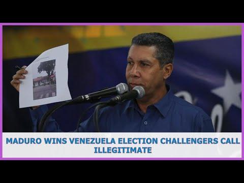 US BREAKING NEWS   Maduro wins Venezuela election challengers call illegitimate