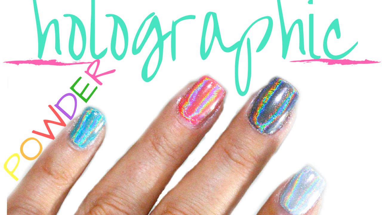 52 Weeks of Beauty - 2016 Week 8 - HOLOGRAPHIC \