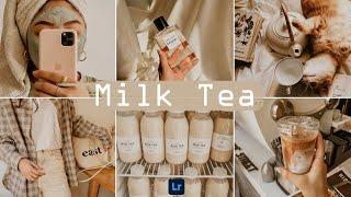 Milk Tea Preset - Lightroom Mobile Preset | Coffee Preset | Nude Cream Filter | Cream Tone