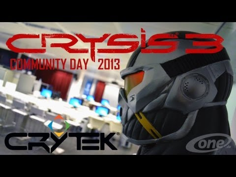 Crysis Community Day 2013 bei Crytek in Frankfurt