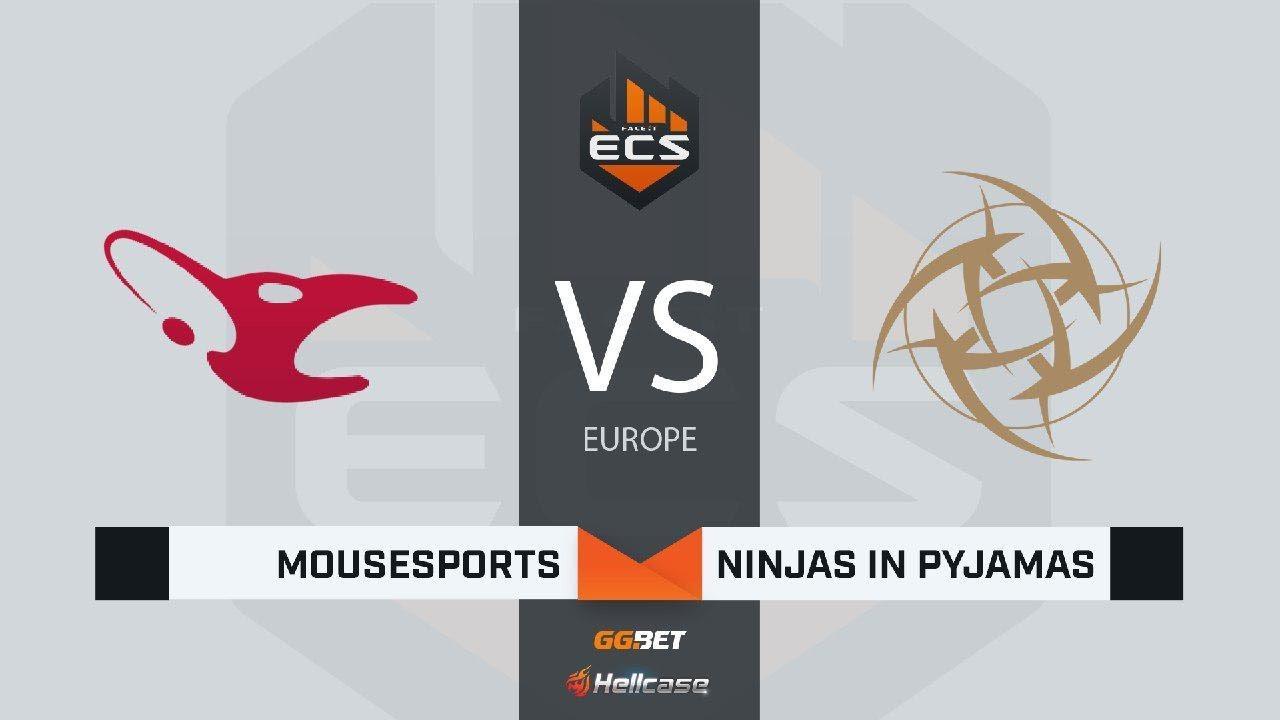 [RU] mousesports vs NiP | Map 1 – Nuke | ECS Season 7 Europe