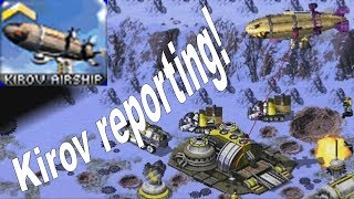 Red Alert 2 Kirov Reporting in Extra Small Map