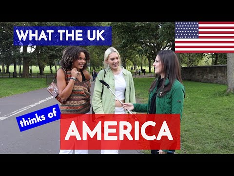 What BRITISH people think of AMERICA