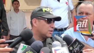 General Humberto de Jesús Guatibonza Carreño   Plaza libre de extorsión