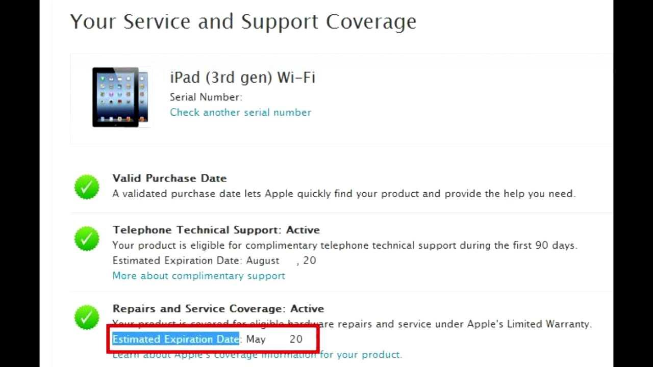 Learn when Apple Ipad Iphone Ipod warranty ends   Izzy Laif