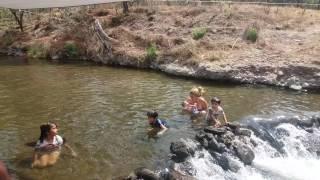 Rio caliente en el bosque de la primavera jalisco mex
