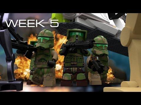 Building Kashyyyk in LEGO - Week 5: Design Part 1