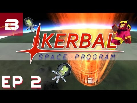 Kerbal Space Program - Ep 2 - For SCIENCE!!! (Career Gameplay)
