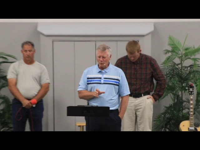 Sunday Worship Service - August 29th, 2021
