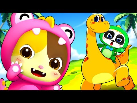 My Friend - Brachiosaur | Dinosaur Song | Animal Song | Nursery Rhymes | Kids Songs | BabyBus