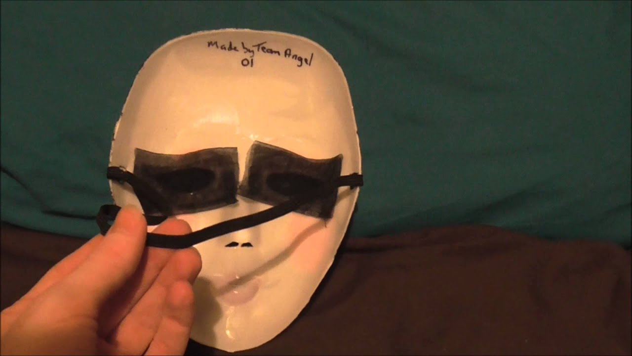 the strangers pin up girl mask made by team angel from the