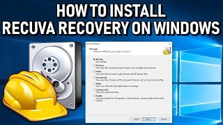 Recuva File Recovery for Windows Installation Guide and Overview 2019