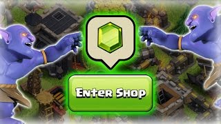 GEMMING THE NEW UPDATE! 30,000+ Gems For The NEW BOWLERS - Clash Of Clans Bowler Update!