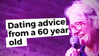 Dating advice from a 60 year old woman @Story Party Tour - True Dating Stories