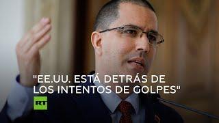 Arreaza habla de la situación de Venezuela tras el intento de golpe de Estado
