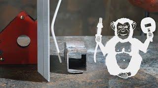 Территория сварки - сварка согнутым электродом(Иногда нет доступа к месту, которое нужно заварить. Зачастую это труба возле стены. Поэтому некоторые сварщ..., 2016-03-21T13:00:01.000Z)