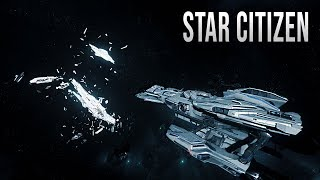 Destroyed Starship! - STAR CITIZEN Multi-Crew Gameplay!