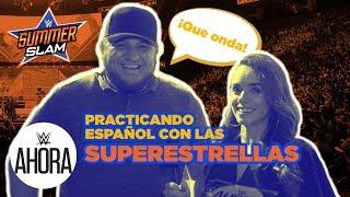 Las Superestrellas de WWE practican español: WWE Ahora, Agosto 21, 2019