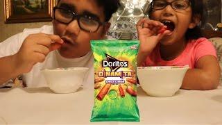 Doritos Dinamita Chile LIMON!!! CHALLENGE!!!!