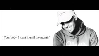 Chris Brown - Text Message (feat.Tyga) Lyrics HD