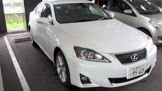 2012 LEXUS IS 250 AWD - Exterior & Interior