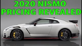 2020 Nissan GTR Pricing for Nismo, 50th anniversary & Track edition Revealed