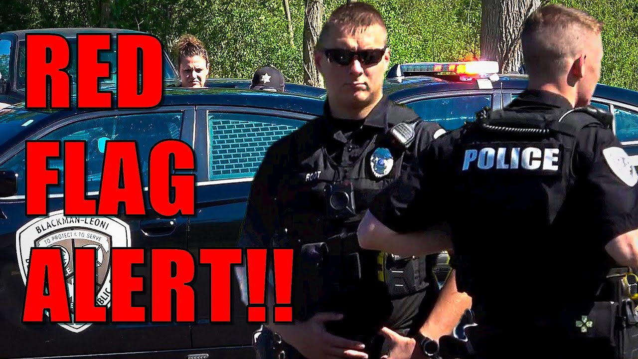 RED FLAG ALERT!! New Normal In America? First Amendment Audit - Freedom News Now