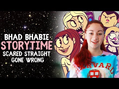 BHAD BHABIE Storytime - Scared Straight Gone Wrong - animated