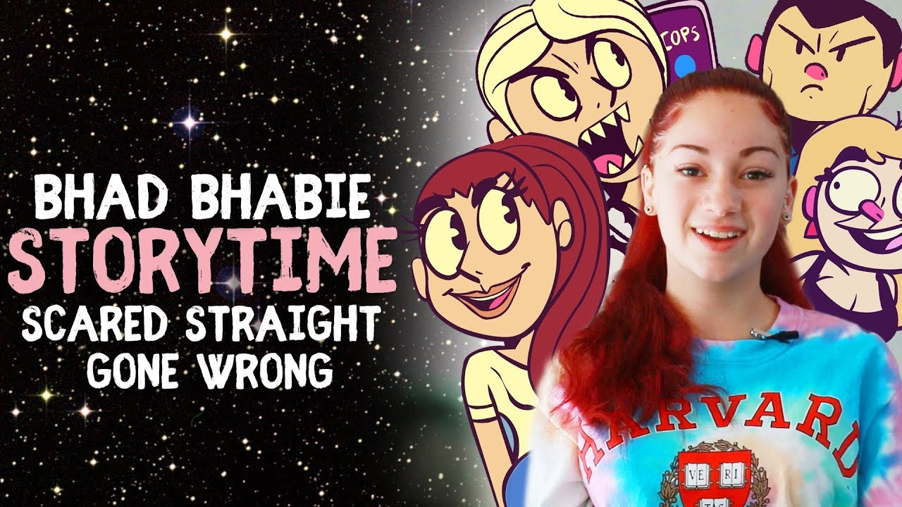 Danielle Bregoli is BHAD BHABIE Storytime - Scared Straight Gone Wrong - animated