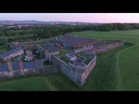 Drone Video from the Phoenix Park in Dublin, Ireland