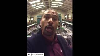 'DONT BE SCARED DERECK' - DAVID HAYE REVEALS PROPOSED DEAL WITH EDDIE HEARN FOR CHIOSRA v JOYCE