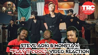 Steve Aoki &amp Monsta X &quotPlay It Cool&quot Music Video Reaction