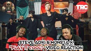 "Steve Aoki & Monsta X ""Play It Cool"" Music Video Reaction"