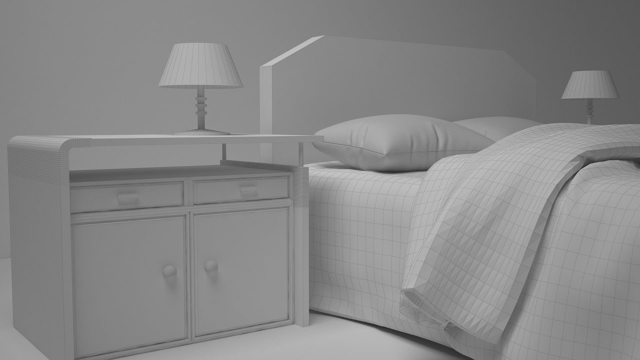 Tutorial 3ds max modelling table lamp youtube for Table lamp 3ds max tutorial