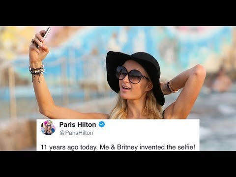 Paris Hilton Said She Invented The Selfie With Britney Spears?! | What's Trending Now! thumbnail