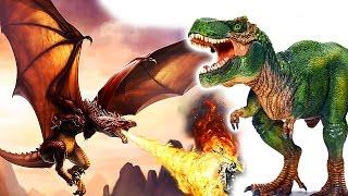 Динозавры 2017. Новая серия про Динозавров и огненных Драконов Динозавры мультфильм на русском языке