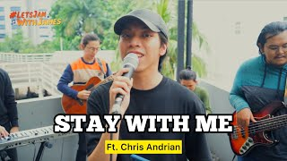Stay With Me (真夜中のドア) LIVE - Chris Andrian ft. Fivein #LetsJamWithJames