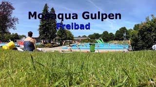 Mosaqua Gulpen in 45 Sek | Freibad | Zwembad Mosaqua | 4K
